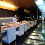 Sushi bar at Ten Japanese Restaurant Kuala Lumpur