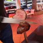 Skewers of meat at Redentor BBQ Restaurant Broadbeach