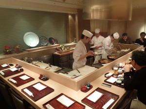 Tempura Kondo Restaurant Ginza Tokyo