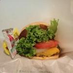 Classic cheese burger at Freshness Burger Tokyo