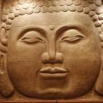 Buddha Face Sculpture at Miyako Restaurant