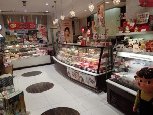 Fujiya cake store in Ginza Tokyo