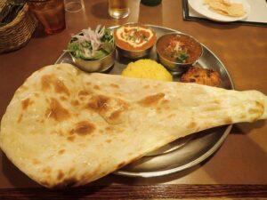 Indian Thali at Shinjuku Bombay Restaurant Tokyo