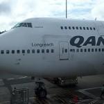 Qantas First Class Haneda Tokyo to Sydney