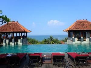 Swimming Pool at the Mercure Kuta Beach Hotel