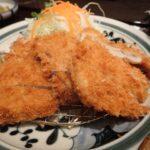 Tonkatsu at Hamakatsu Restaurant Shinjuku