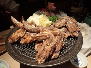 Tebasaki at Toriyoshi Restaurant Shinjuku Tokyo