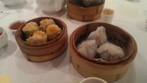 Yum Cha steamed dumplings at Zilver