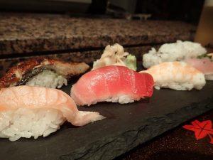 Sushi at Kabuki Shoroku Japanese Restaurant Sydney