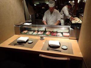Sushi Bar at Azuma Japanese Restaurant Sydney