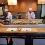 Asahizushi Sohonten Restaurant Sumitomo Building Shinjuku Tokyo