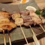 Yakitori at Otowatei Restaurant Shinjuku