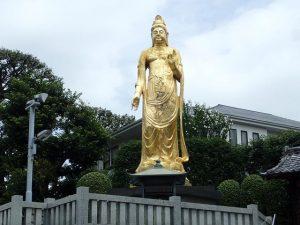 Golden Buddha at Zenshoan Temple