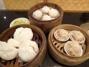 Yum Cha Dim Sum dishes at Dragon Court Chinese Restaurant