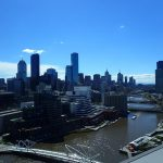 View of South Wharf Melbourne