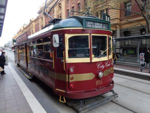 Free City Circle Tram Around Melbourne CBD