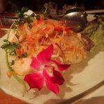 Noodle dish at Bali Lax Indonesian Restaurant