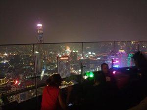 View Red Sky Rooftop Bar Bangkok