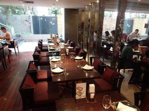 Inside Nara Thai Cuisine Restaurant Erawan Bangkok