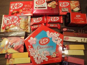 Hundreds of Kit Kat Flavours in Japan