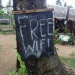 WiFi internet access in Sabang Beach Palawan Island