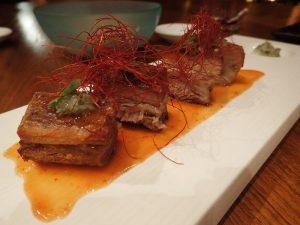 Pork Belly at Nobu Japanese Restaurant Manila