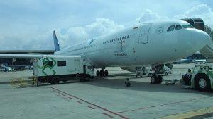 Garuda Jakarta to Bali A330-300