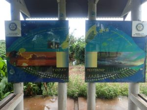 International Dateline Sign on Taveuni Island