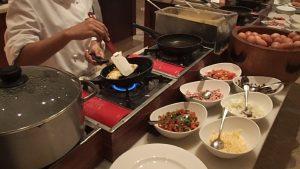 Buffet Breakfast at the Grand Hyatt Jakarta
