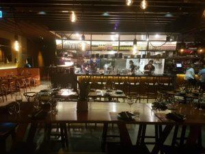 Inside Mamasan Kitchen Bar Broadbeach