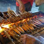Best Satay in Singapore at Lau Pa Sat Festival Market
