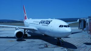 Qantas Perth to Sydney A330-200