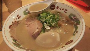 Ramen Noodle Soup at Tenkaippin Restaurant Nishi-Shinjuku
