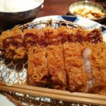 Pork Belly Tonkatsu at Butagumi Restaurant Tokyo