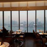 Awesome Views from Grand Hyatt Club Lounge Hong Kong