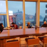 Club Lounge at the Hyatt Regency Hong Kong