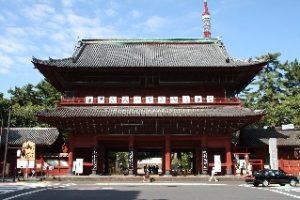 Zojoji Buddhist Temple Tokyo