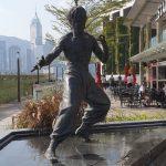 Bruce Lee Statue Tsim Sha Tsui Hong Kong