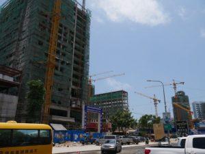 Over Development of Sihanoukville Cambodia