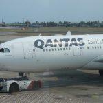 Qantas Airbus A330-200 Sydney to Bali