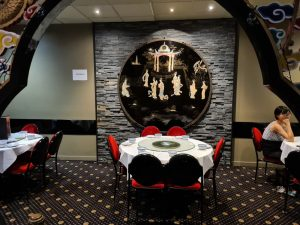 Inside Dynasty Chinese Seafood Restaurant Townsville
