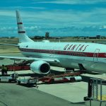 Qantas Retro Roo B737-800 flying from Brisbane to Townsville