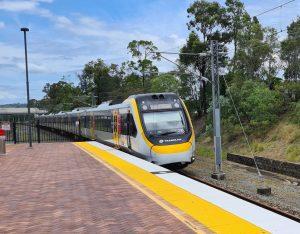 Train from Gold Coast to Brisbane