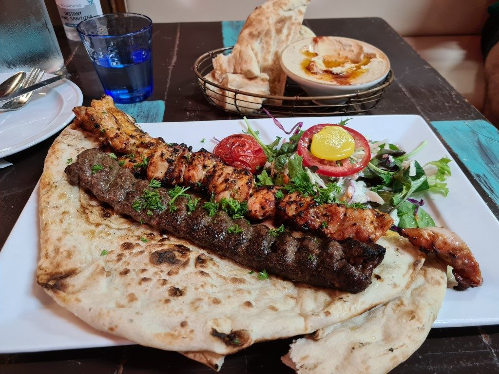 Delicious Food at Shiraz Persian Restaurant in Surfers Paradise