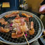 Japanese BBQ at Riki Japanese Restaurant Cairns