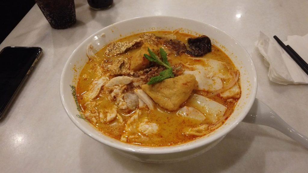 Delicious Laksa Noodle Soup in Brisbane City Centre