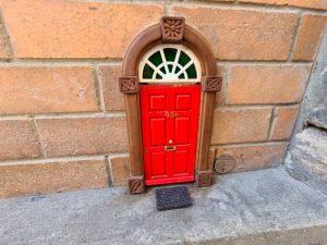Little Red Door on Burnett Lane