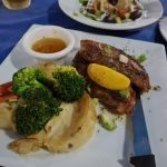 Pork Belly Special at Fetta's Greek Restaurant Cairns