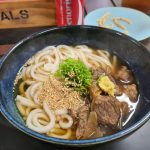 Stewed Beef Udon Noodle Soup