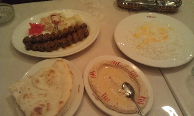 Aladdin Iranian Halal Restaurant Tokyo